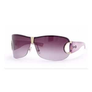 GUCCI Floral Wrap-around Pink Sunglasses. No. 2746